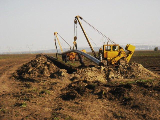 Reparatie conducta subterana titei - SC CONPET SA Ploiesti